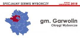 Gm. Garwolin: Okręgi wyborcze - wybory samorządowe 2018