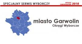 Miasto Garwolin: Okręgi wyborcze - wybory samorządowe 2018