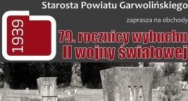 79. rocznica wybuchu II wojny światowej w Garwolinie