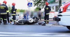 Wypadek– Kierujący motorowerem zginął na miejscu