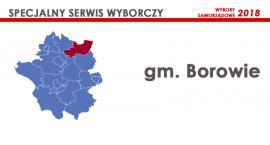 Kandydaci - Rada gminy Borowie