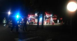 Pożar na stacji paliw Orlen – płonące auto ugasił kasjer