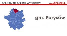Kandydaci - Rada gminy Parysów