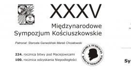 XXXV Międzynarodowe Sympozjum Kościuszkowskie