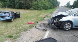 Wypadek na DK 17 – kobieta zasnęła za kierownicą