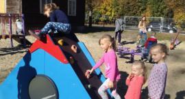 Nowy plac zabaw w Kozłowie
