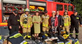 Strażacy z OSP Garwolin dostali agregat, hełmy, buty i ubrania