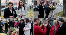 Beata Szydło odwiedziła Garwolin – na szpital zabrakło czasu (video)