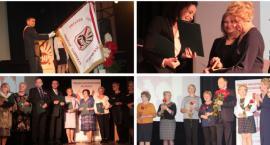Sztandar i medal Pro Masovia na 100-lecie ZNP w Garwolinie