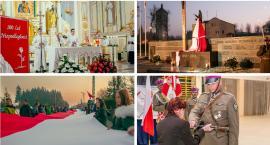 W Górznie odsłonili pomnik i posadzili dęby na 100. rocznicę odzyskania niepodległości