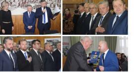 Na żywo - Burmistrz Marzena Świeczak i radni Garwolina ślubowali
