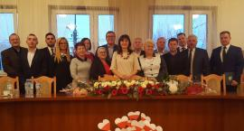 Burmistrz Anna Laskowska i radni miasta Łaskarzew ślubowali