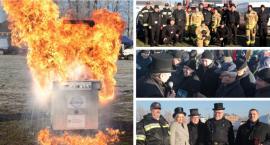 Jak palić w piecu i czym nie gasić płonącego oleju? (video)