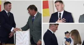 Wójt Maciej Błachnio i radni gminy Sobolew ślubowali