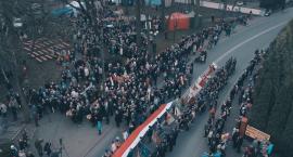 Film z obchodów Święta Niepodległości w Garwolinie