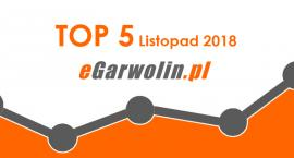 Top 5 Listopad 2018 - eGarwolin.pl