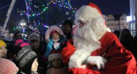 Mikołaj na żelechowskim rynku