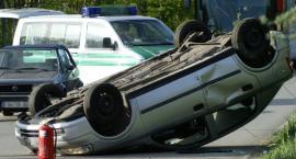 Zasnął za kierownicą – wypadek w Woli Żelechowskiej