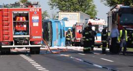 Karambol na DK 17. Zderzenie 5 aut. Są ranni