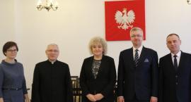 Wicemarszałek senatu Maria Koc odwiedziła Żelechów