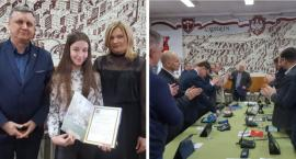 Anna Kotlarska ze stypendium sportowym burmistrza
