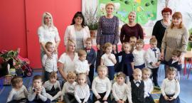 Pierwsza dama Agata Kornhauser-Duda w przedszkolu w Sobolewie