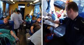Pomaganie mają we krwi – policyjna akcja krwiodawstwa