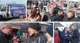 Bus Nowej Piątki PiS jeździ po powiecie