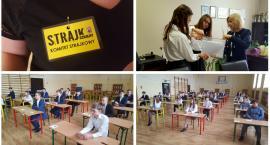 Egzaminy gimnazjalne i ósmoklasisty ze strajkiem w tle