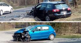 Kolizja samochodów – sprawca z mandatem i punktami