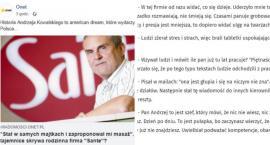 Mobbing i molestowanie w Sante? Wyznania pracowników w Onet.pl