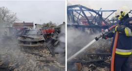 Podpalacz w szpitalu – pożar domu i stodoły