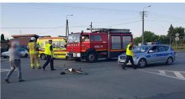 Pijany kierowca potrącił rowerzystkę