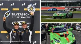 Karol Basz i Bartosz Paziewski wygrywają na Silverstone w Lamborghini