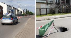 Zapadła się ulica – Mogło dojść do tragedii