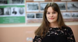 Aleksandra Witak - stypendystka szczególnie uzdolniona