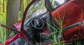 Audi uderzyło w barierki, BMW w drzewo, nissan dachował – Pijani za kierownicą