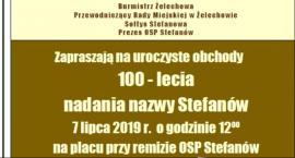 Stefanów obchodzi 100-lecie nadania nazwy