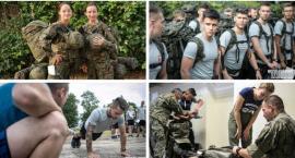 Terytorialsi już na poligonie – Wicestarosta Kurowska w mundurze
