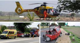 7 wypadków w tydzień – Apel policji