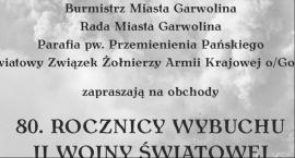 80. rocznica wybuchu II wojny światowej w Garwolinie