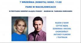 Narodowe Czytanie z patronatem pary prezydenckiej – Czytać będą Dominika i Michał Chorosińscy