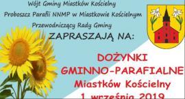 Dożynki gminno-parafialne w Miastkowie Kościelnym - Program obchodów