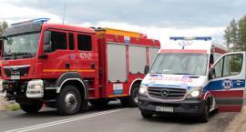 Zderzyły się 4 samochody – Wypadek na DW801 – W szpitalu dziecko