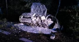 Śmierć na drodze – Tragiczny wypadek w gminie Wilga