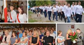 Rozpoczęcie roku szkolnego w ZS w Miętnem