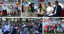 Na skwerku czytali nowele – Narodowe Czytanie 2019 w Garwolinie