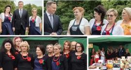 Prezydent Duda jadł chleb z żelechowskiego GS-u – KGW ze Starego Kębłowa w Belwederze