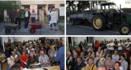 Rozrzutnik i taczki dla władzy – Protest mieszkańców gminy