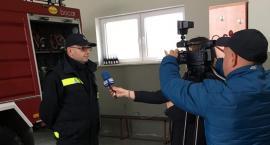 Strażacy z powiatu w Teleexpressie i Kurierze Mazowieckim